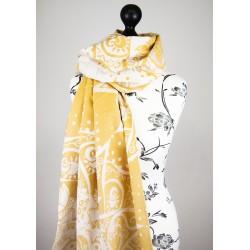 Birthing Mandala marigold scialle